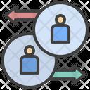 Transfer Employee Synchronize Swap Icon