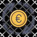 Transfer Euro Money Icon