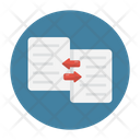 File Transfer Exchange Icon