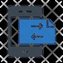 Transfer File Data Icon
