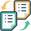 Transfer Exchange File Icon
