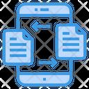 Files Transfer Document Icon