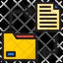 Transfer Files Transfer Document Send Document Icon