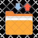Files Transfer Folder Icon