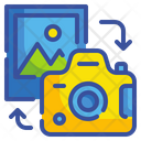 Transfer Image Camera Photo Icon