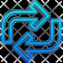 Transfer Loop Transfer Loop Icon