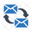 Transfer Exchange Email Icon
