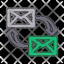 Transfer message Icon