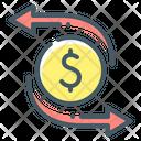 Transfer Transfers Money Icon