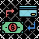 Money Card Exchange Icon