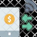 M Money Transfer Transfer Money Money Transfer Icon