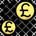 Transfer Money Transfercurrency Pound Icon