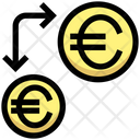 Transfer Money Transfercurrency Euro Icon