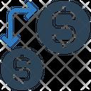 Transfer Money Transfercurrency Dollar Icon