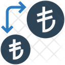 Transfer Money Transfercurrency Lira Icon