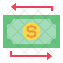 Money Currency Arrows Icon