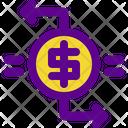 Exchange Money Banking Icon