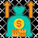 Income Increase Budget Icon