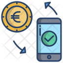 Transfer Money Online Payment Online Transcation Icon