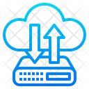 Transfer Server Data Icon
