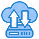 Transfer Management Cloud Icon