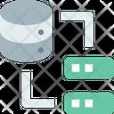 Transfer Server Datatransfer Database Data Icon