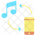 Imobile Phone Transfer Song Transfer Music Icon