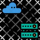 Transfer Storage Cloud Icon