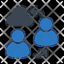 Transfer Exchange User Icon