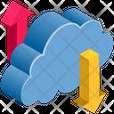 Cloud Computing Transferring Icon