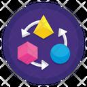 Transform Transformation Square Icon