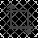 Transform Crop Icon