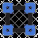 Transform Anchor Pointer Shape Icon