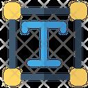 Transform Text Tool Development Icon