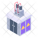 Transformer House Electric House Power House Icon