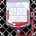 Transfusion Iv Drip Infusion Icon