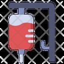 Transfusion Blood Donation Icon