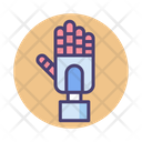Transhumanism Robotic Hand Hand Icon