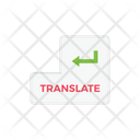 Translate Language Enter Icon