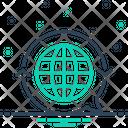 Translate Globe International Icon