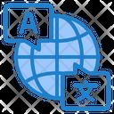 Translate World Global Icon