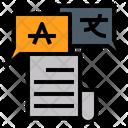 Language Lingo Word Icon
