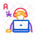 Translate Language Agent Icon
