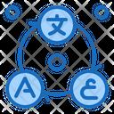 Translate Many Languanges Multiple Translation Multi Icon