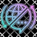 Translating Service Globalization Icon