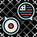 Translat English Flags Icon
