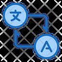 Translation Language Translation Interpreter Icon
