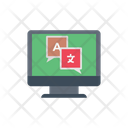 Translation Language Interpretation Icon