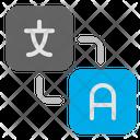 Translation Language Translate Icon