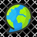 Translation Language Global Icon